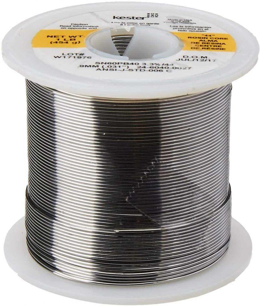 best solder iron wire for guitar