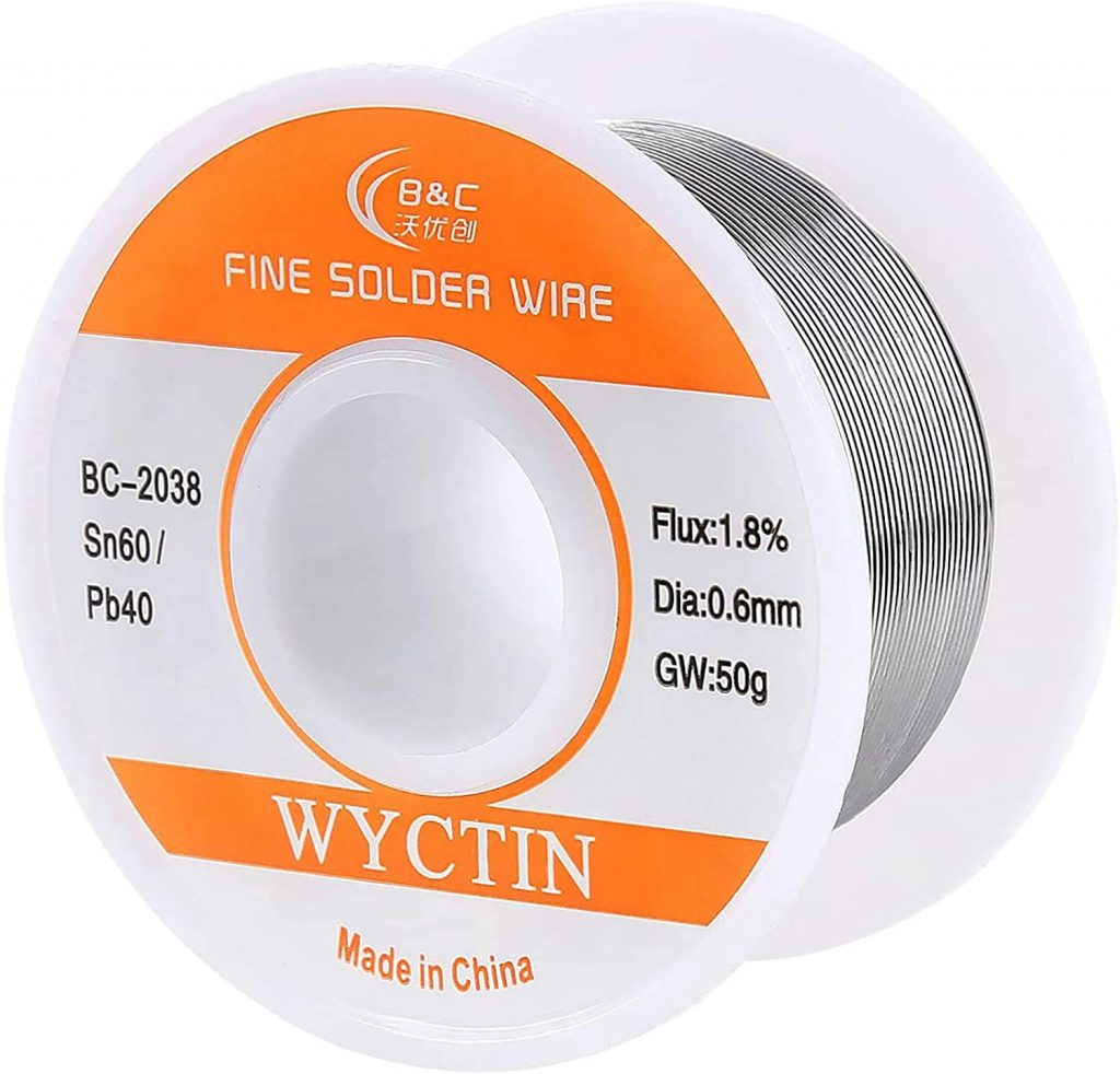 best solder size wire for electronics