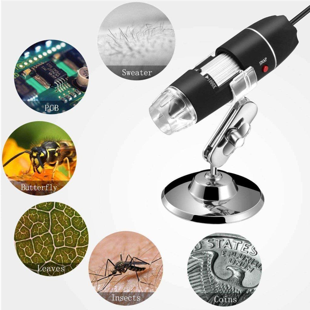 uses of USB microscope